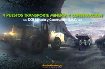 minería y construcción