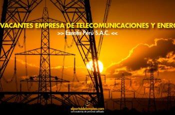 telecomunicaciones y energía