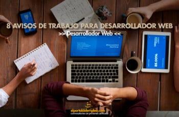 trabajo para desarrollador web