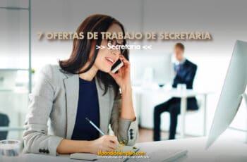 trabajo de secretaria