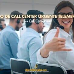 trabajo de call center