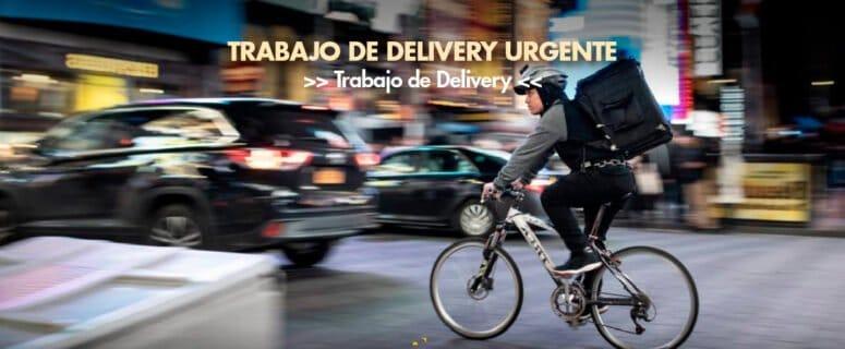 trabajo de delivery