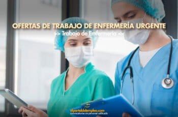 trabajo de enfermería