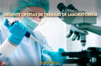 trabajo de laboratorista