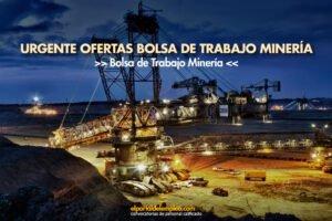bolsa de trabajo minería